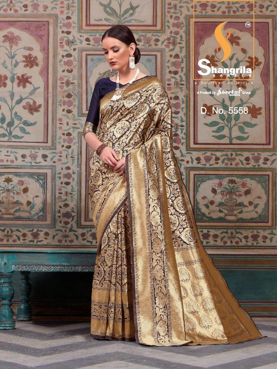 6c7f82c96d Shangrila Samyra Silk Sarees (8 Pcs Catalog )   Fancy Sarees ...