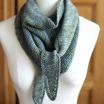 Simple Sideways Triangle Scarf