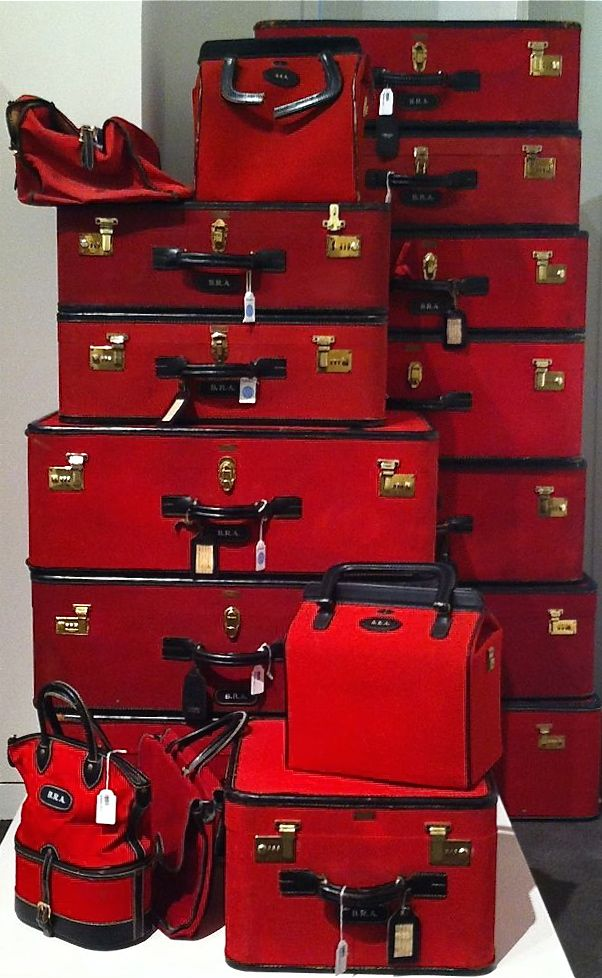 Billionaire Club / karen cox. The Glamorous Life. Brooke Astor's Luggage Set ~<3~...♥