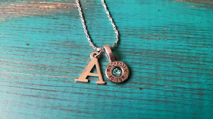 Initial necklaces!