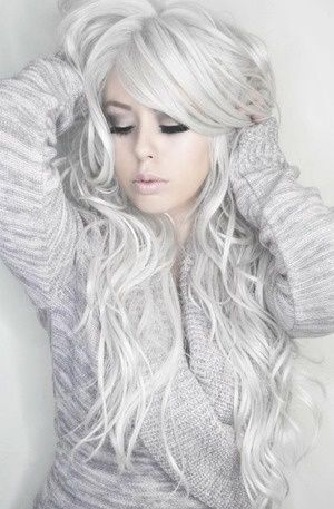 679f888fa719 Snow White Hair Dye - 6 Frosty White Hair Chalks