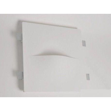 Lampadine Led X Faretti.Mw8502 Faretto In Gesso Muro Da Parete A Scomparsa X Lampade