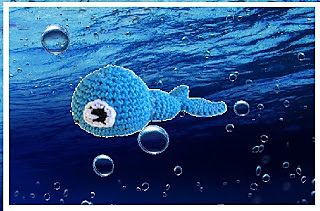 wallie de walvis ~ free pattern