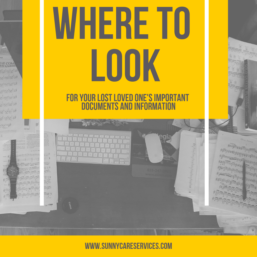 Where should you start looking for your lost loved ones
