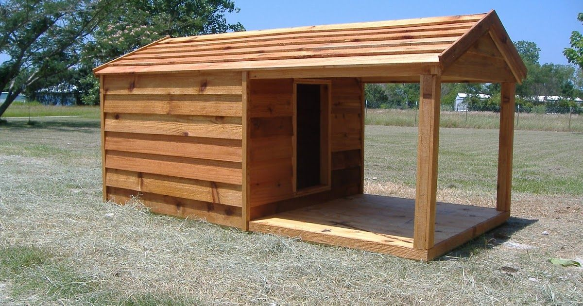 Our Custom Dog Houses With Porch Are Built To Last You Can Get