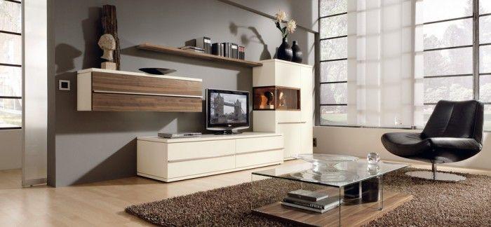 design : wohnzimmer weiß braun grau ~ inspirierende bilder von, Innenarchitektur ideen