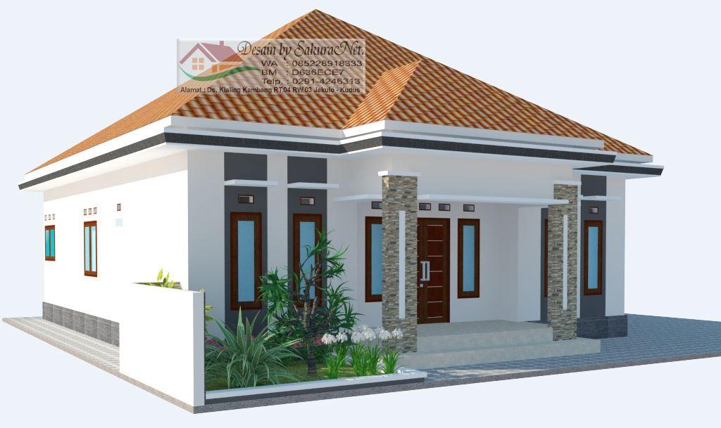 desain rumah 3 kamar 10x12