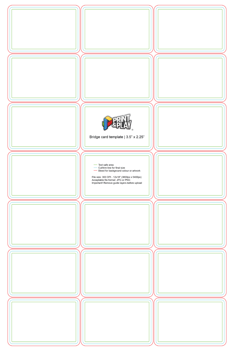Playing Cards Formatting Templates Print Play With Regard To Playing Card Template Illustrator Callforpcissues Review Play Templi Cardio