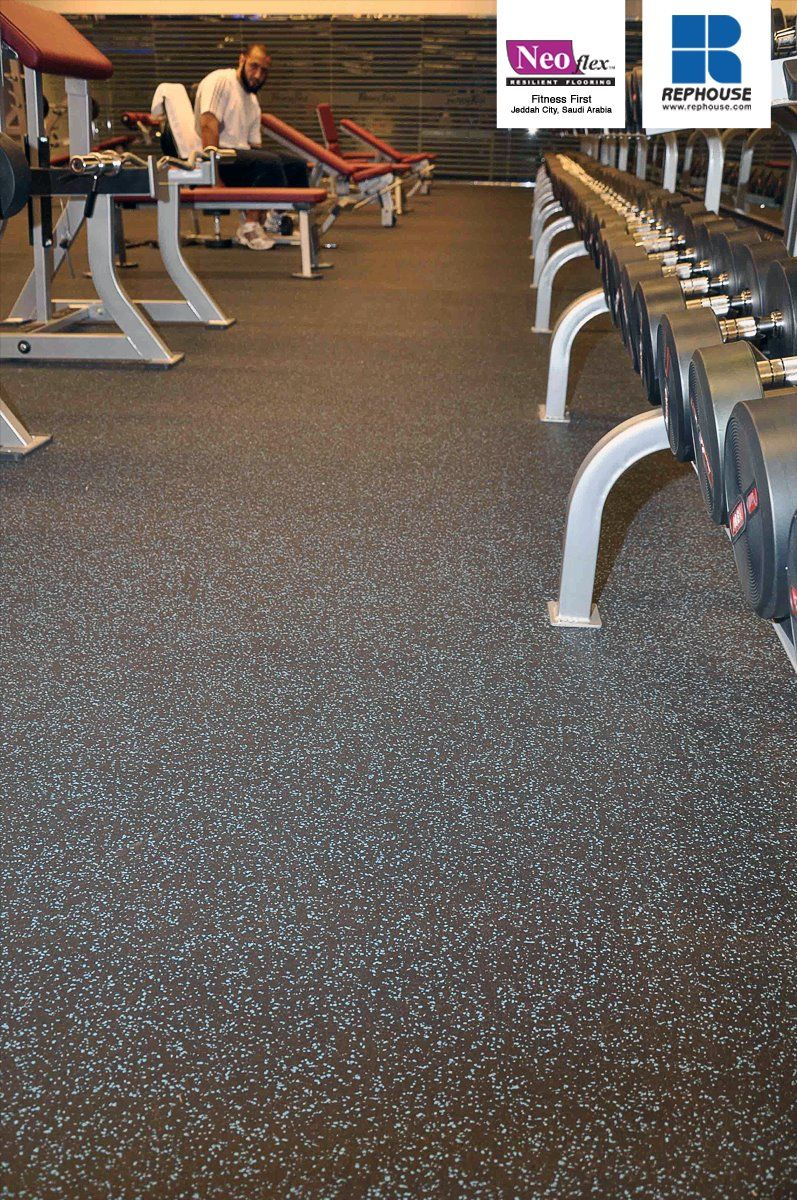 Neoflex 500 Series Rubber Fitness Flooring Fitness First