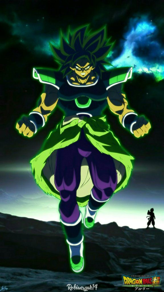 BROLY Dragon Ball Super Wallpaper Kartun, Dragon ball
