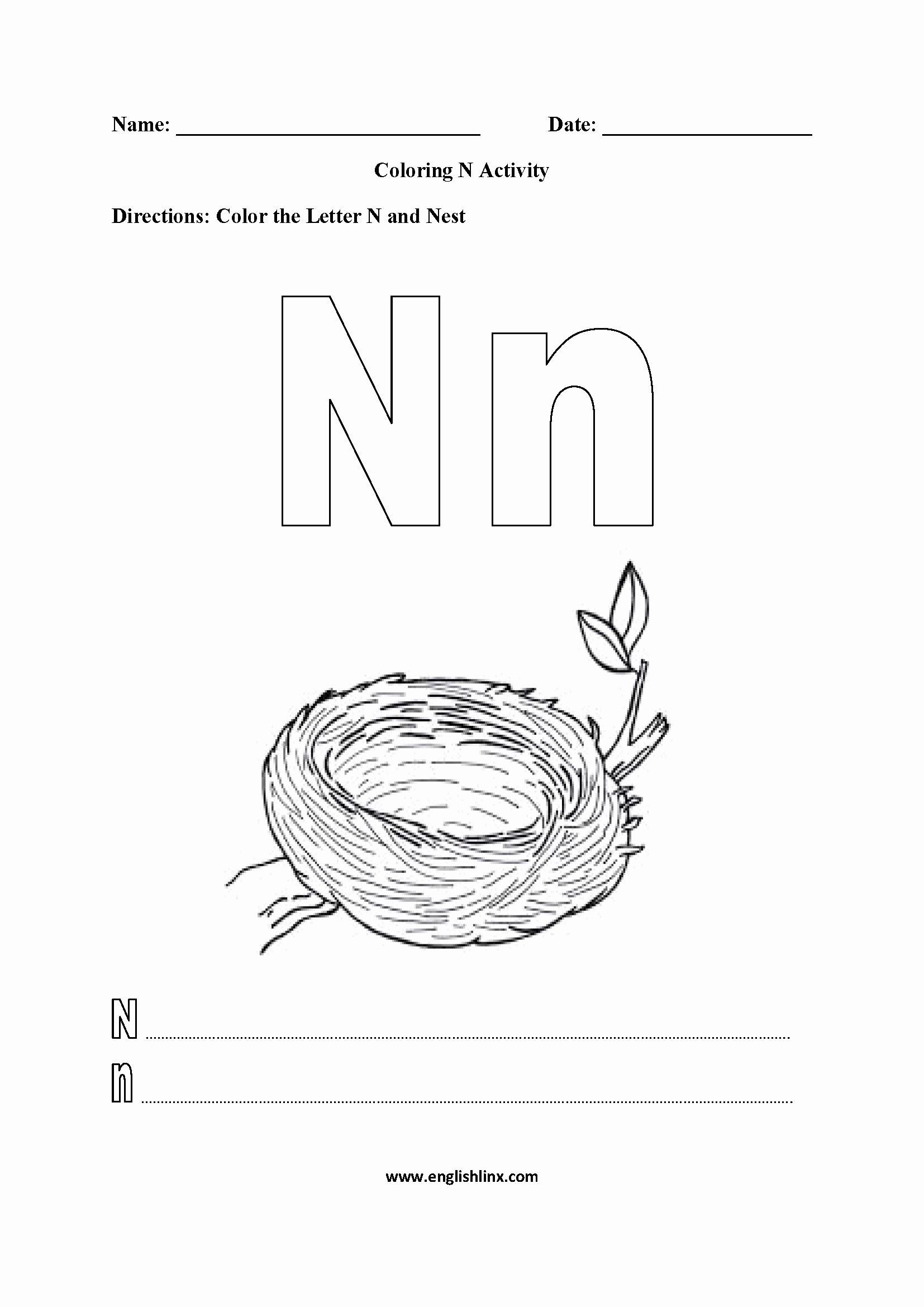 Alphabet Coloring Pages N Beautiful Alphabet Worksheets In