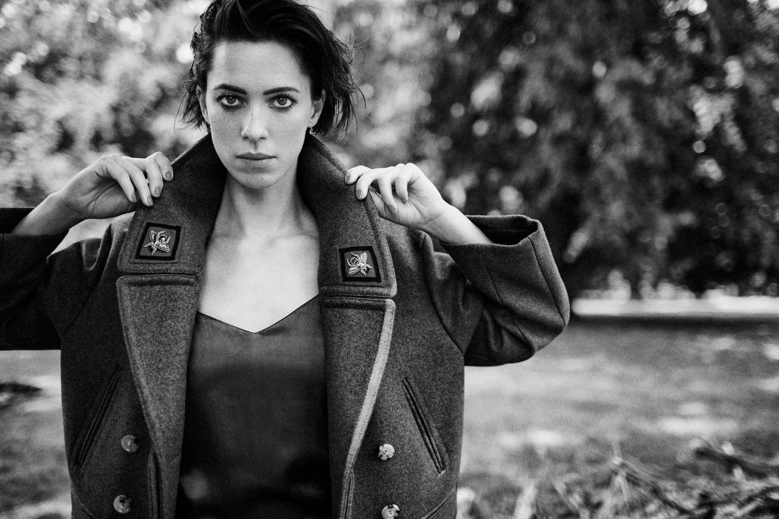 Rebecca Hall by Billy Kidd for The Edit Magazine September 29th, 2016