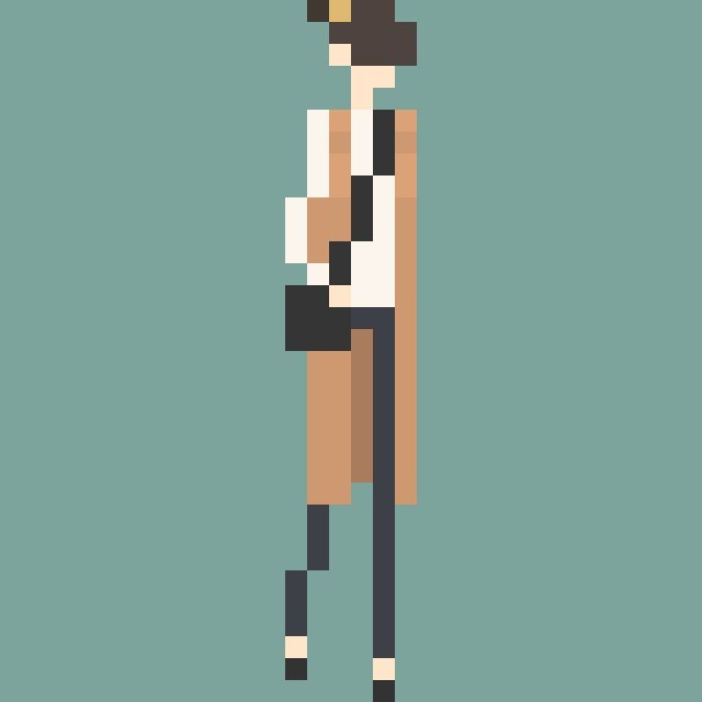 fashion pixel art .coorde