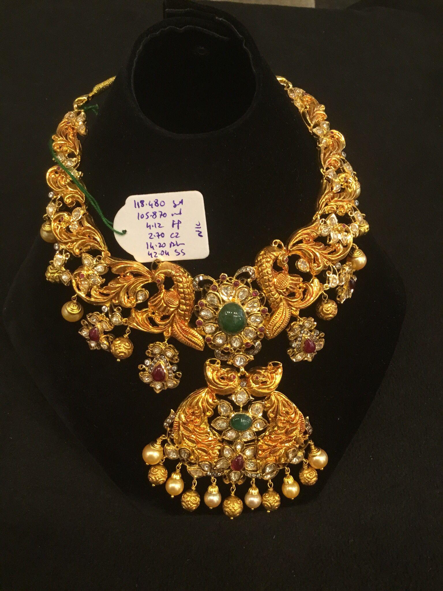 necklace 10t gms premraj shantilal jain jewellers. Black Bedroom Furniture Sets. Home Design Ideas