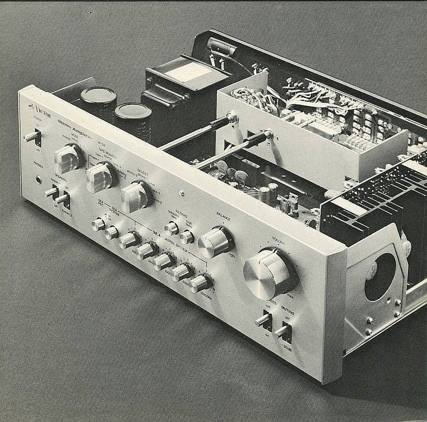 Audio Video Innovator Victor (JVC) JAS8 (1974) www