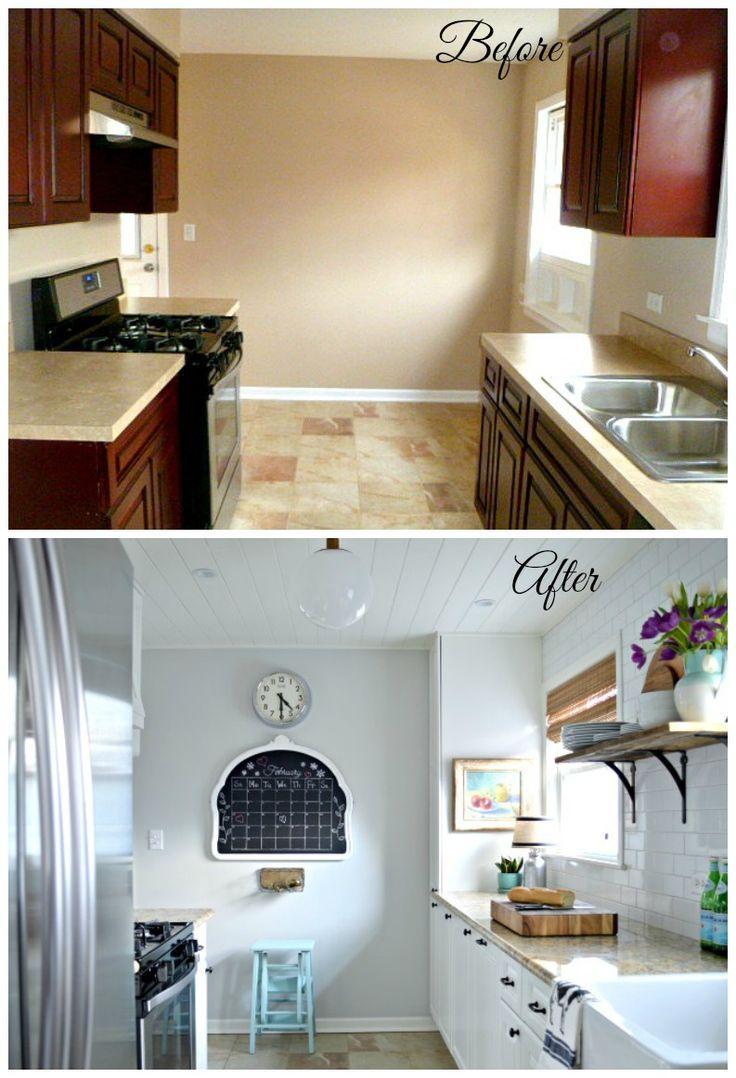 Kitchen Remodel Reveal  Future house  Pinterest  Diy kitchen
