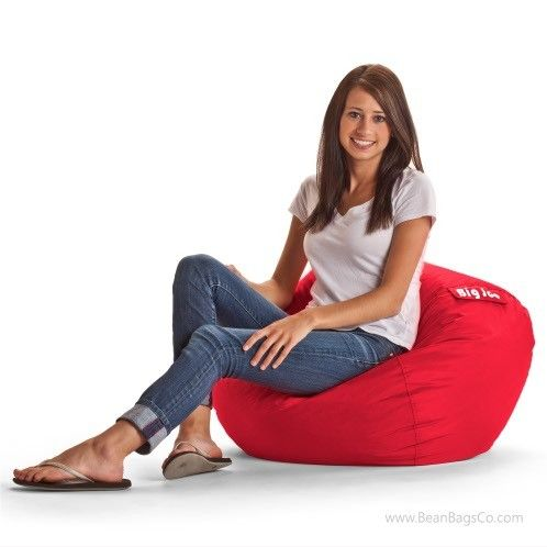 Image result for Big Joe Bean Bag, 98-inch, Flaming Red
