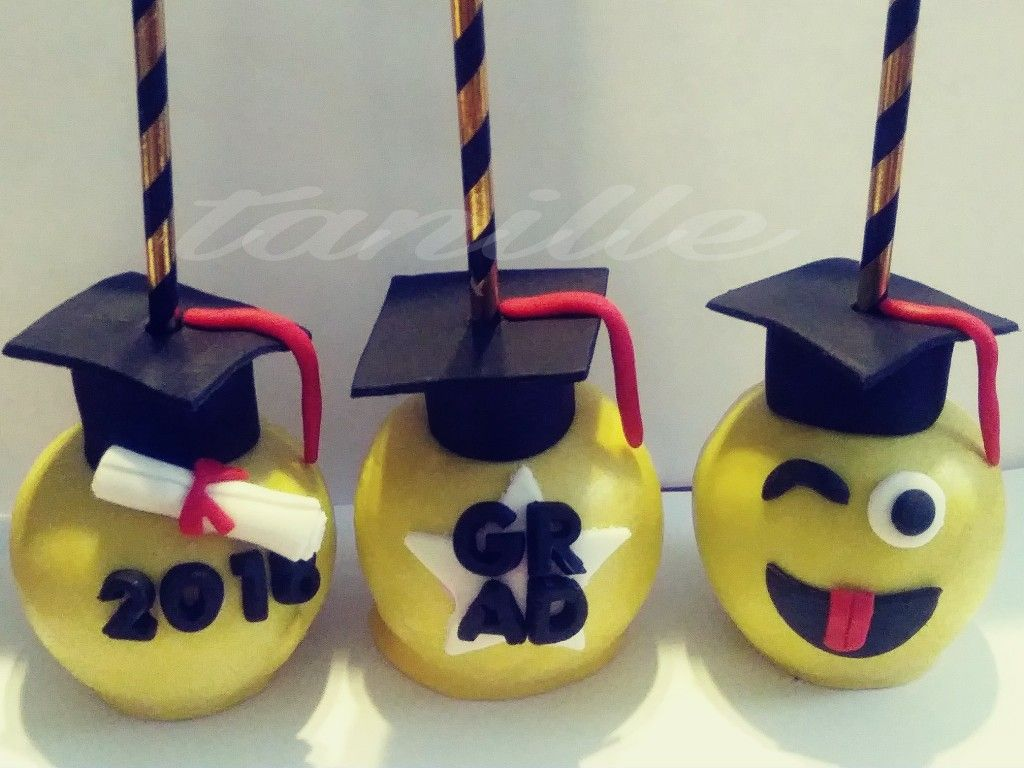 Graduation Apples Graduation Candy Chocolate Covered Apples Graduation Party Cake