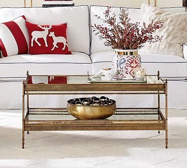 Colette Coffee Table Potterybarn New Hotel Renovation Pinterest - Pottery barn colette coffee table