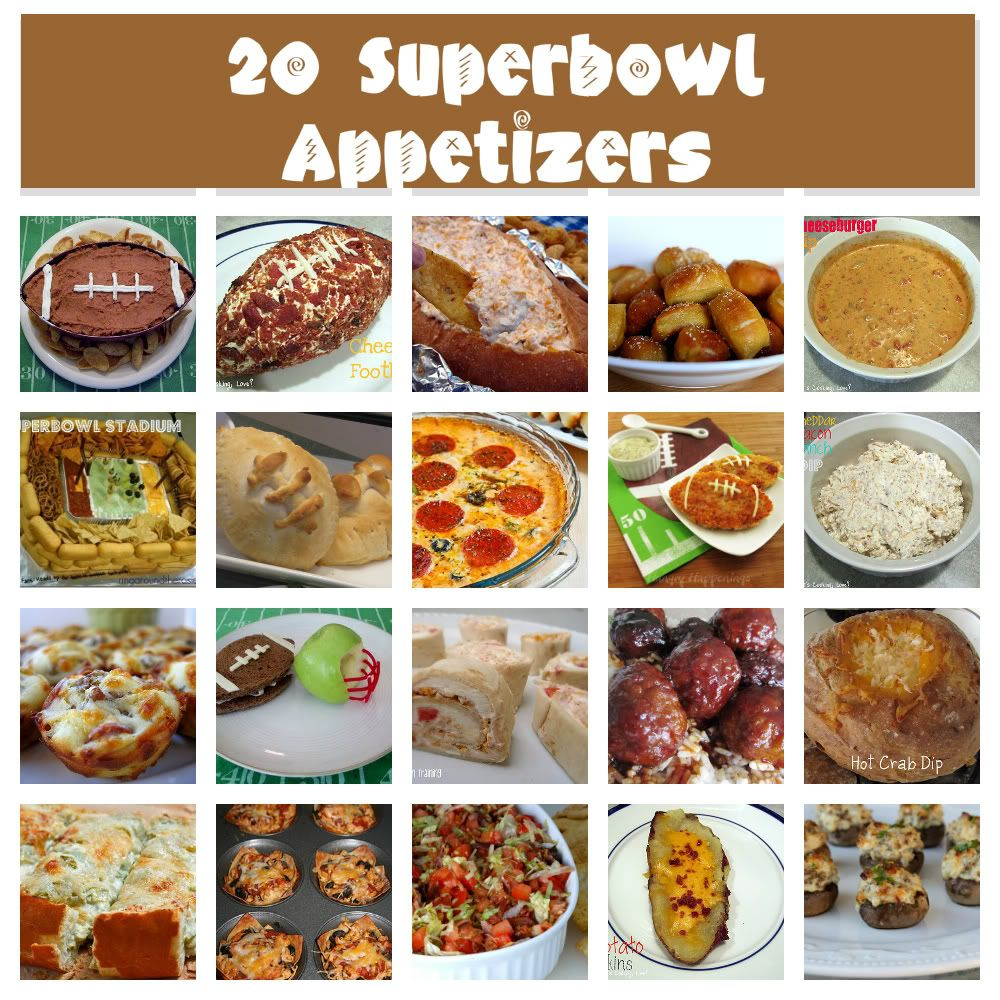 whet your appetite wednesday {20 superbowl appetizer ideas | food