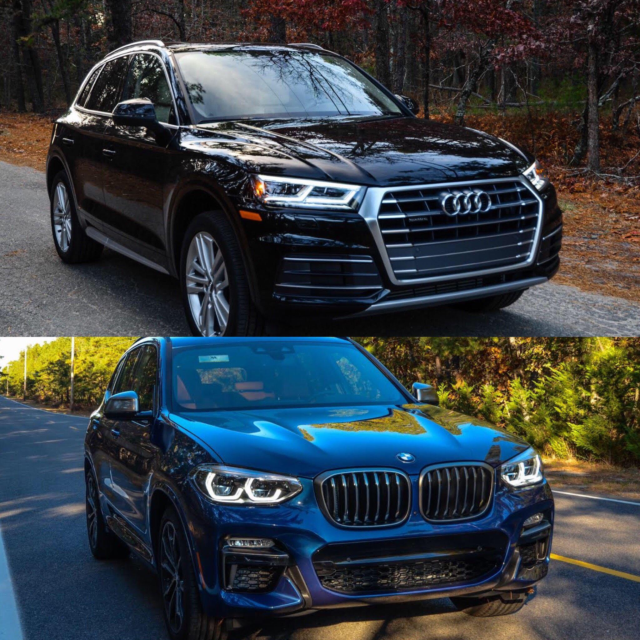Photo Comparison Audi Q Vs BMW X Audi Pinterest - Ray catena audi