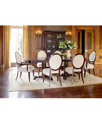 Lauren Ralph Dining Room Furniture Mitchell Place 7 Piece Set Table 4 Side Chairs And 2 Arm