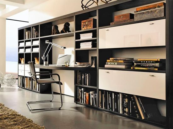 Home Office Clever Integriert Home Living Room Office Home Office