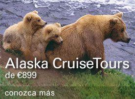 Cruceros por Alaska. Un destino más cerca de lo que parece