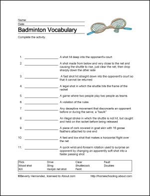45++ Volleyball worksheet answer key For Free