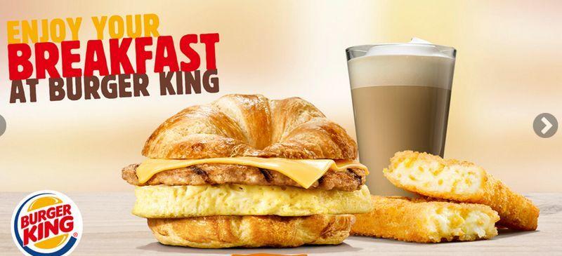 Burger King UK Released A High End Breakfast Menu Food Trendhunter