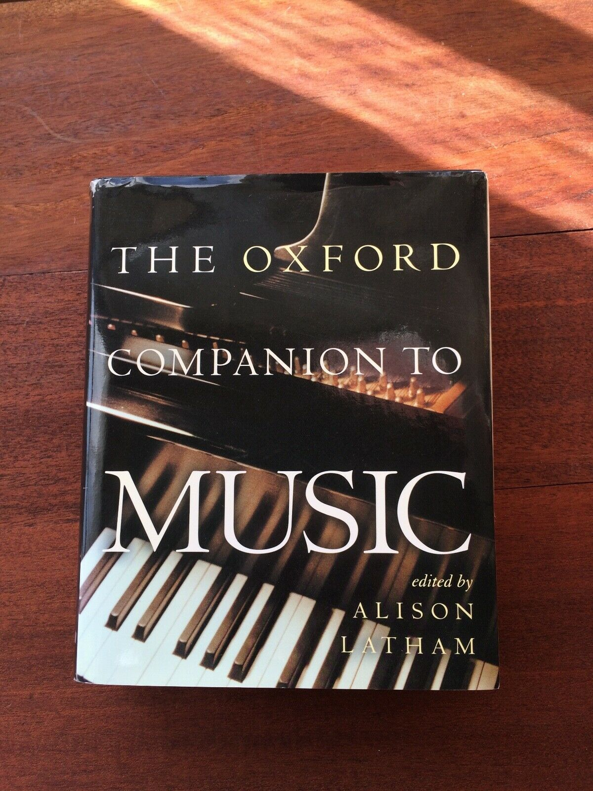 The Oxford Companion To Music By Alison Latham Oxford University Press 2002 Oxford University Press Latham Book Cover