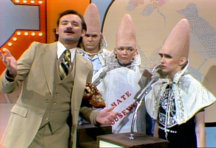 The Coneheads Snl characters, Snl and Hilarious - pop culture halloween costume ideas