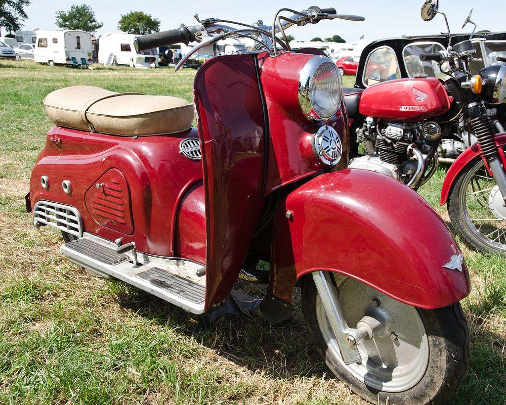 Alle Größen | Zundapp Bella 200 Scooter (1955) | Flickr - Fotosharing!