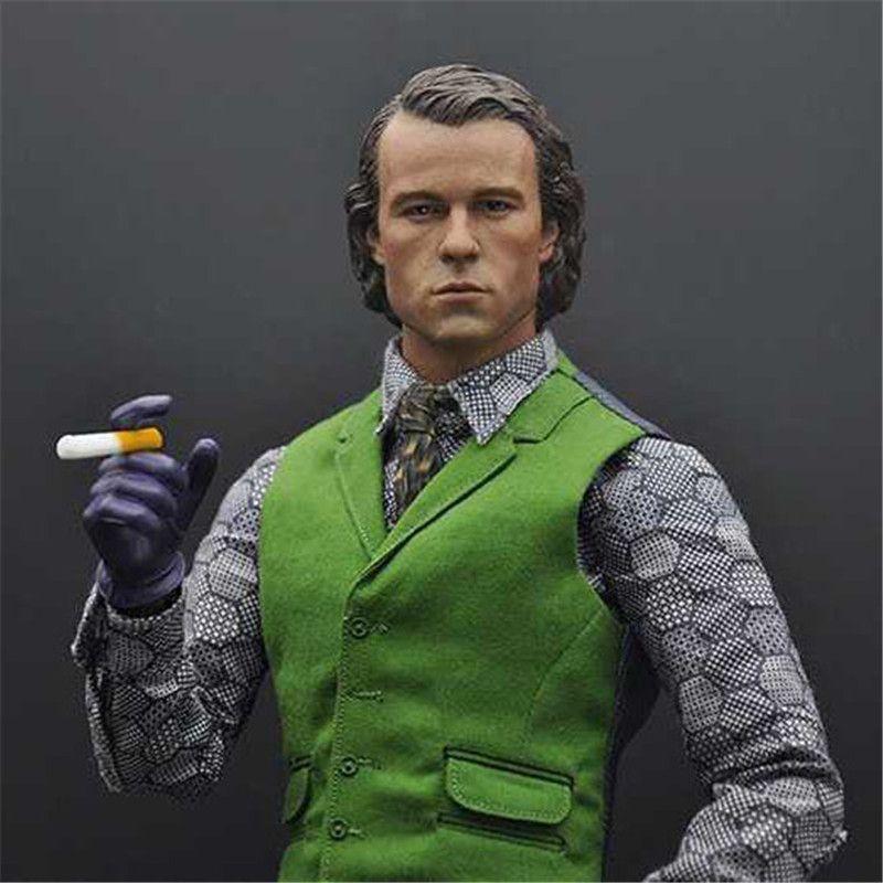 Click To Buy Mnotht 16 Batman Heath Ledger Headplay No Makeup - Joker-no-makeup-ics