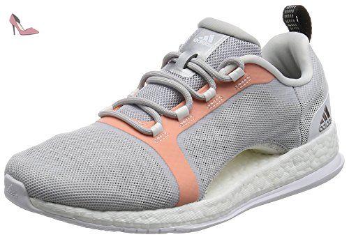 adidas Cloudfoam Flyer W, Chaussures de Sport Femme, Blanc Cassé-Blanco (Ftwbla/Puruni/Plamat), 36 2/3 EU