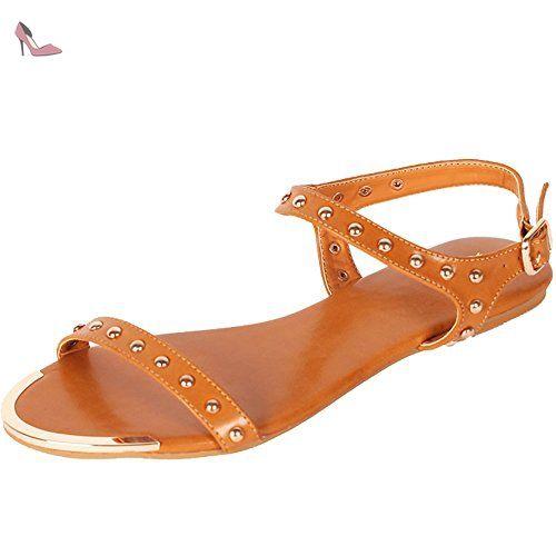 6c4cf40d5dceba Alexis Leroy Chaussures style Salomé avec bride cheville Sandales à talon  carré femme Noir 39 EU - Chaussures alexis leroy (…