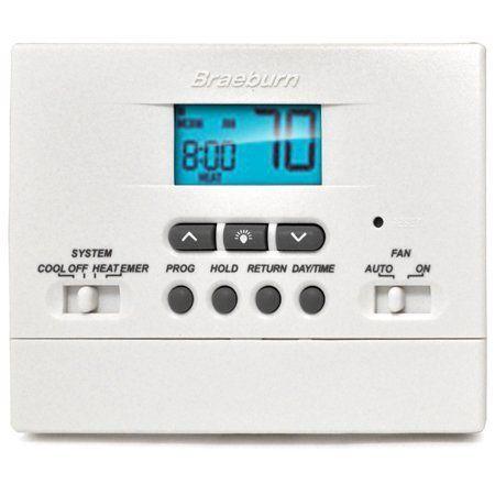 Braeburn Model 2200nc Multistage Programmable Thermostat Tamper
