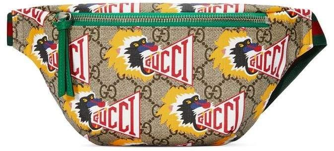 7c0f8a946b6 Gucci Kids Children s GG Gucci baboon belt bag