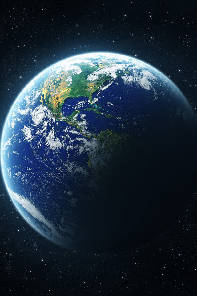 Planet Earth Wallpaper 4k For Mobile Android Iphone Planets Earth Space Iphone Wallpaper