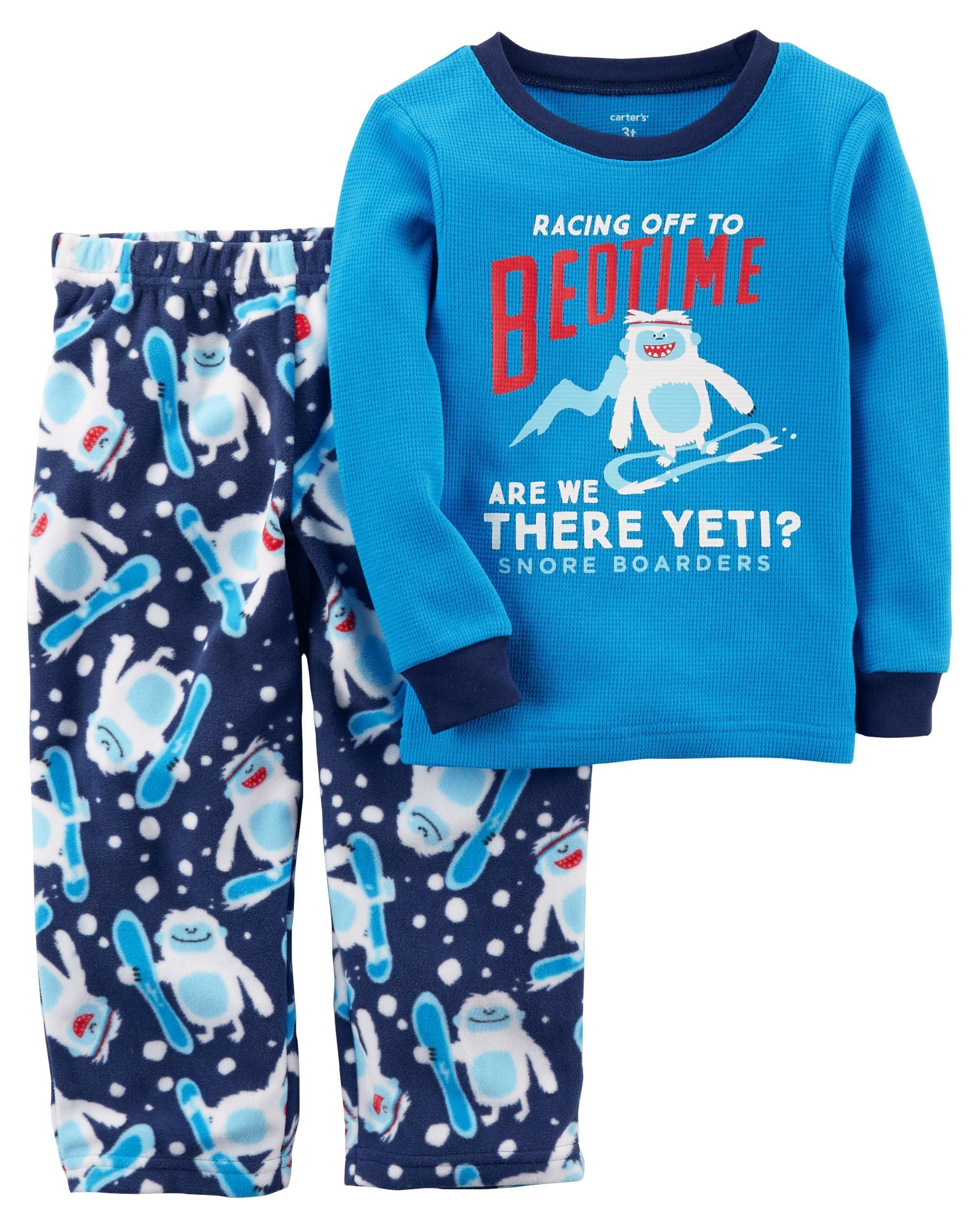 571bd3db0 2-Piece Thermal   Fleece PJs