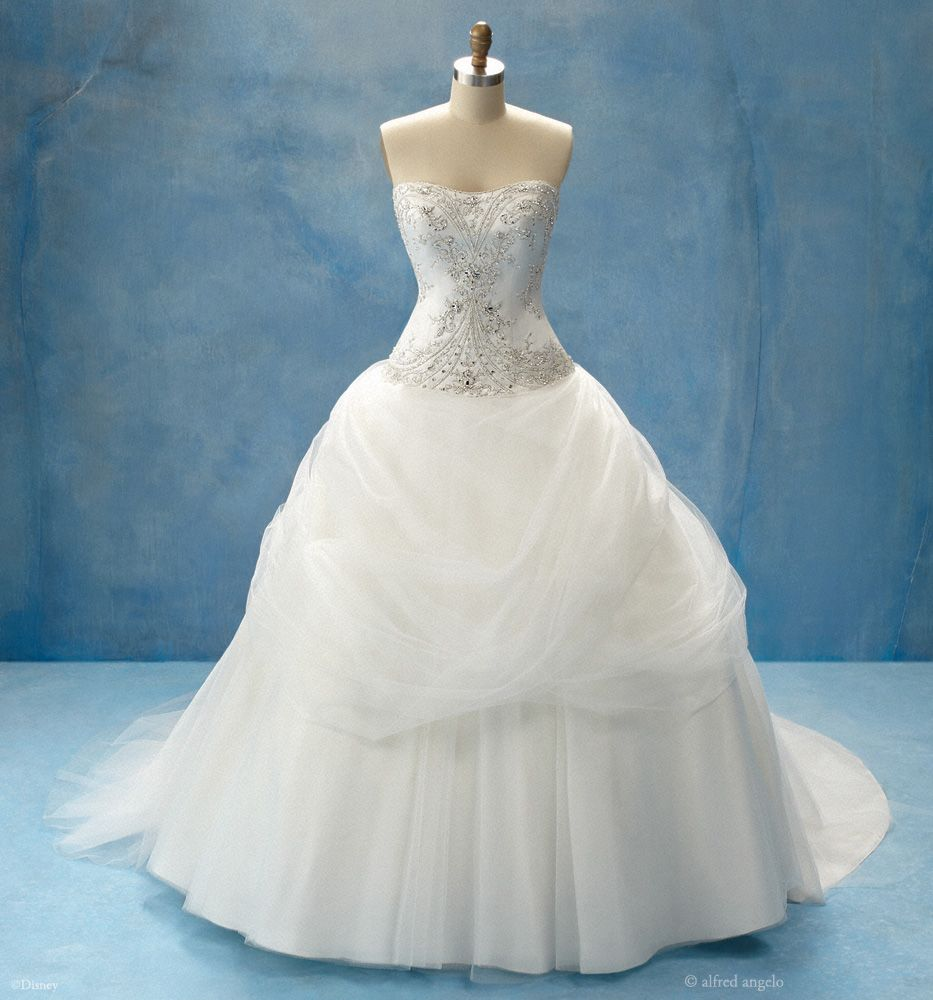 Belle, from Alfred Angelo\'s Disney collection. Comes with a ...