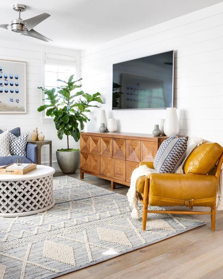 "Family Rooms We Love: Serena & Lily On Instagram: ""The Ryder Rug Features"