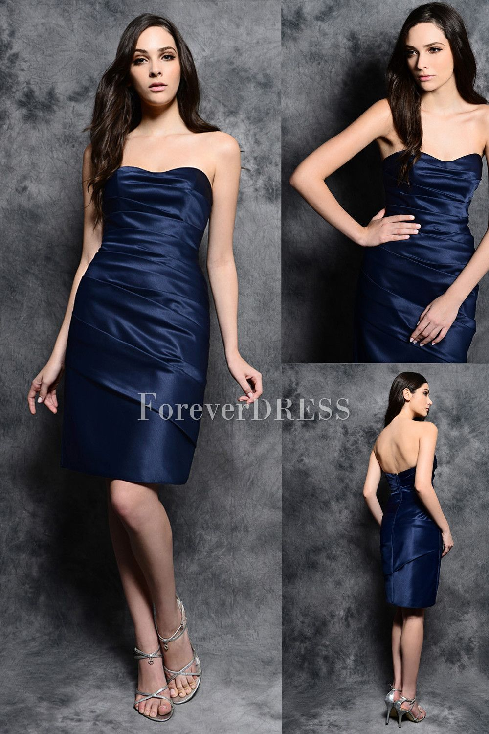 I would love this if it were in a lighter blue bridesmaid i would love this if it were in a lighter blue dark blue bridesmaid dressesblue ombrellifo Choice Image