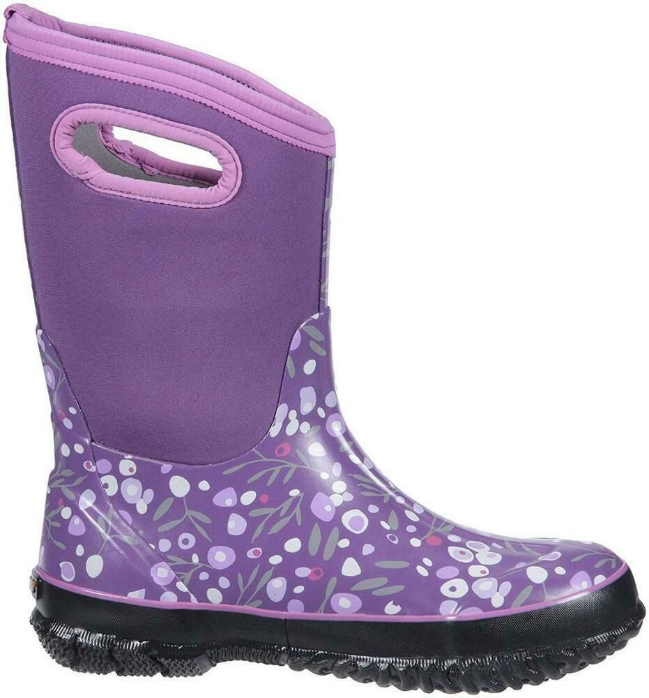 Owls Purple Multi All Sizes Bogs Baby Kids Boots Wellies