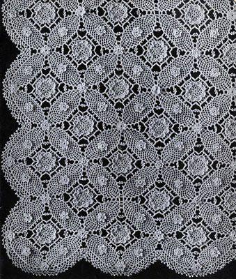 Wedding Ring Bedspread Pattern ~ Free Vintage Crochet | Crochet ...