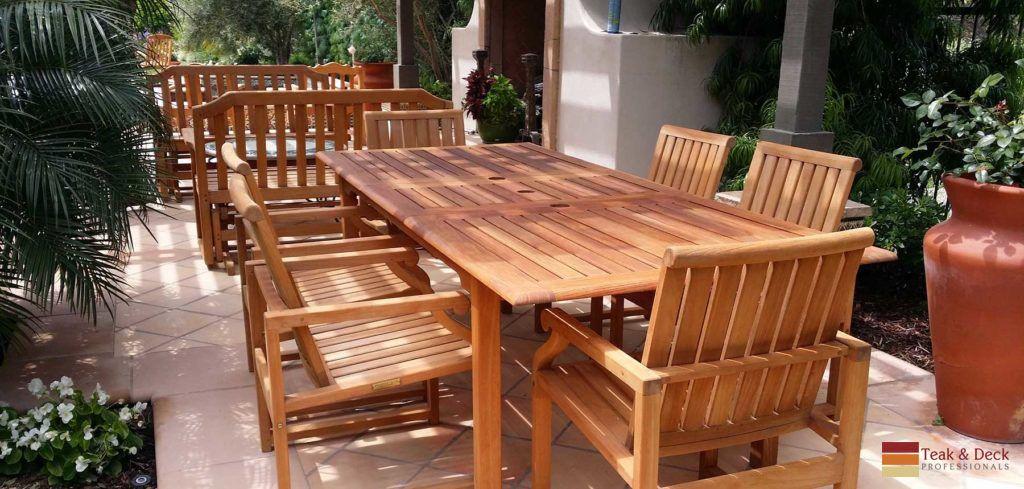 Download Wallpaper Wood Patio Furniture San Diego