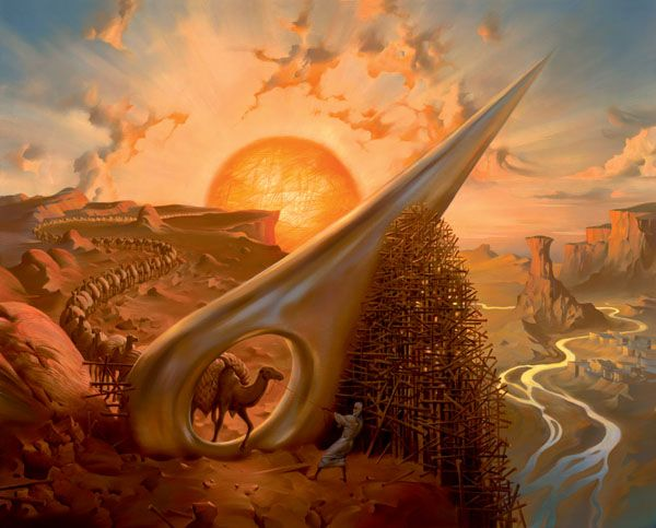 Vladimir Kush, Surrealist Artist ~ Blog of an Art Admirer