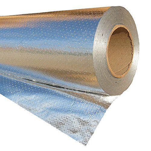 Radiantguard Ultima Foil Radiant Barrier Foil Insulation 1000 Square Feet Roll U 1000 B Radiant Barrier Radiant Barrier Insulation Hydronic Radiant Floor Heating