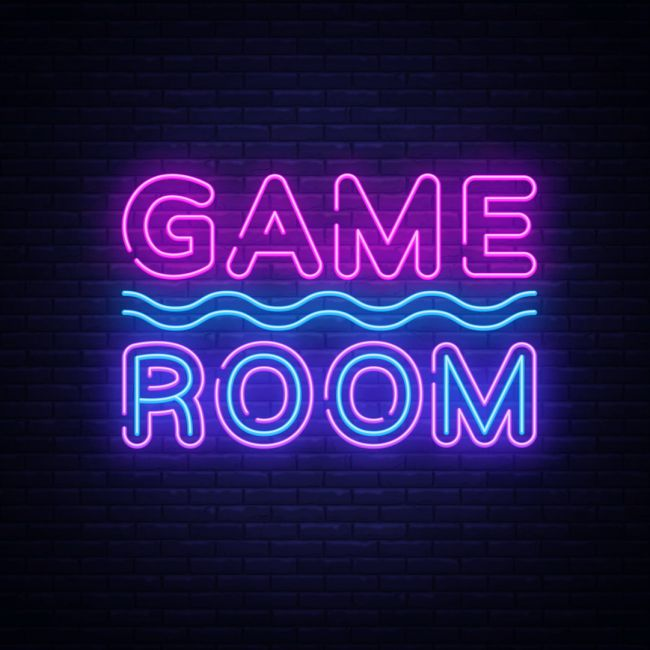 Game Room Text Led Neon Sign Custom Options Color Size Dimmable Electrical Battery Powered Wall Mounted Desktop Type Hanging In A Window Ceiling Indoor In 2020 Neon Signs Led Neon Signs Game Room