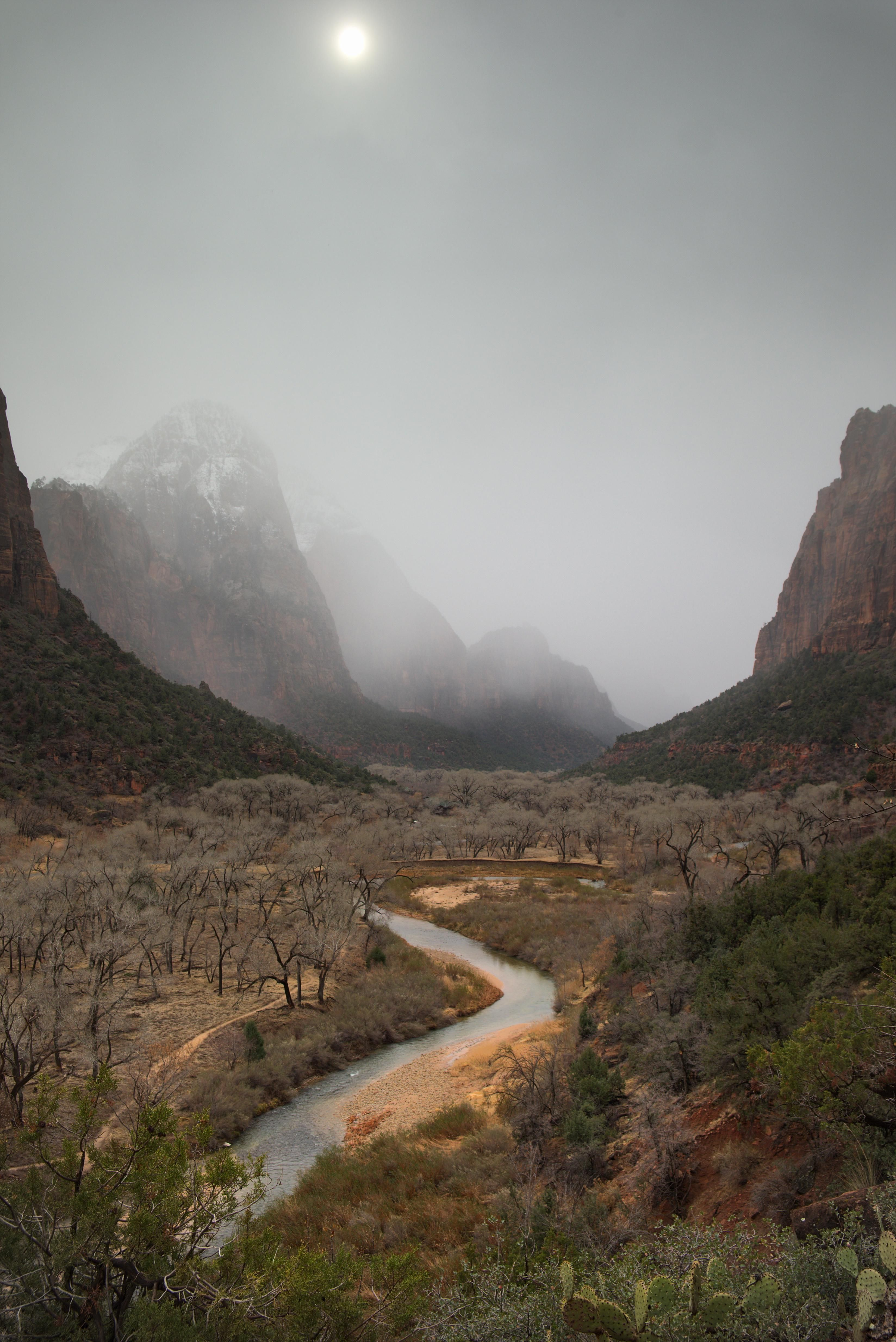 Another View On The Canyons Of Zion National Park Utah 3296x4936